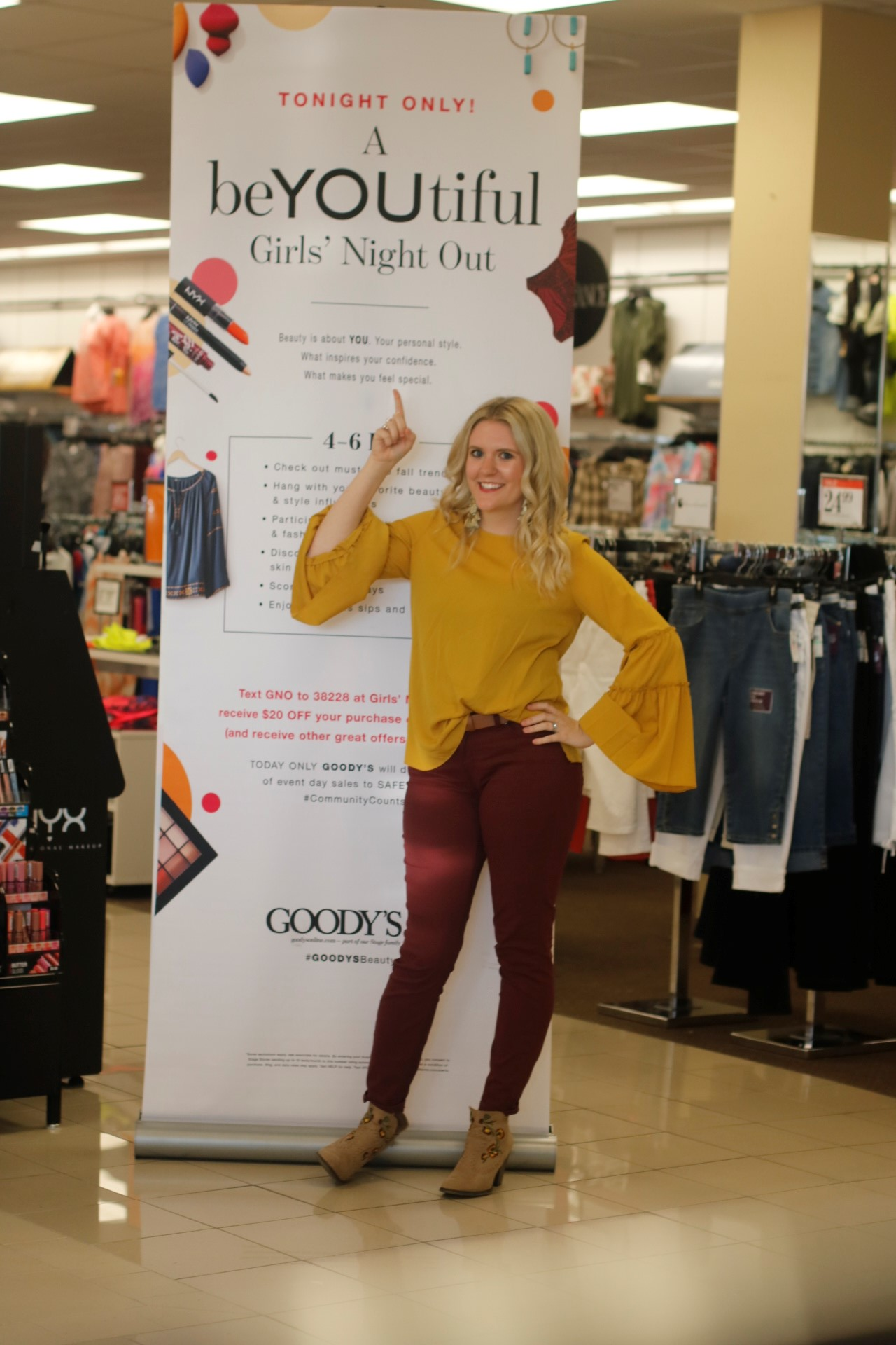 Being Mrs. Fowler BeYOUtiful Girls Event with Stage Stores
