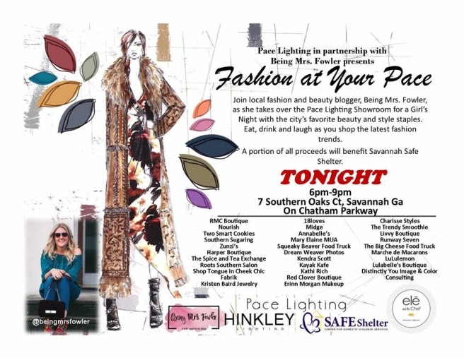 Fashion at Your Pace Invitation