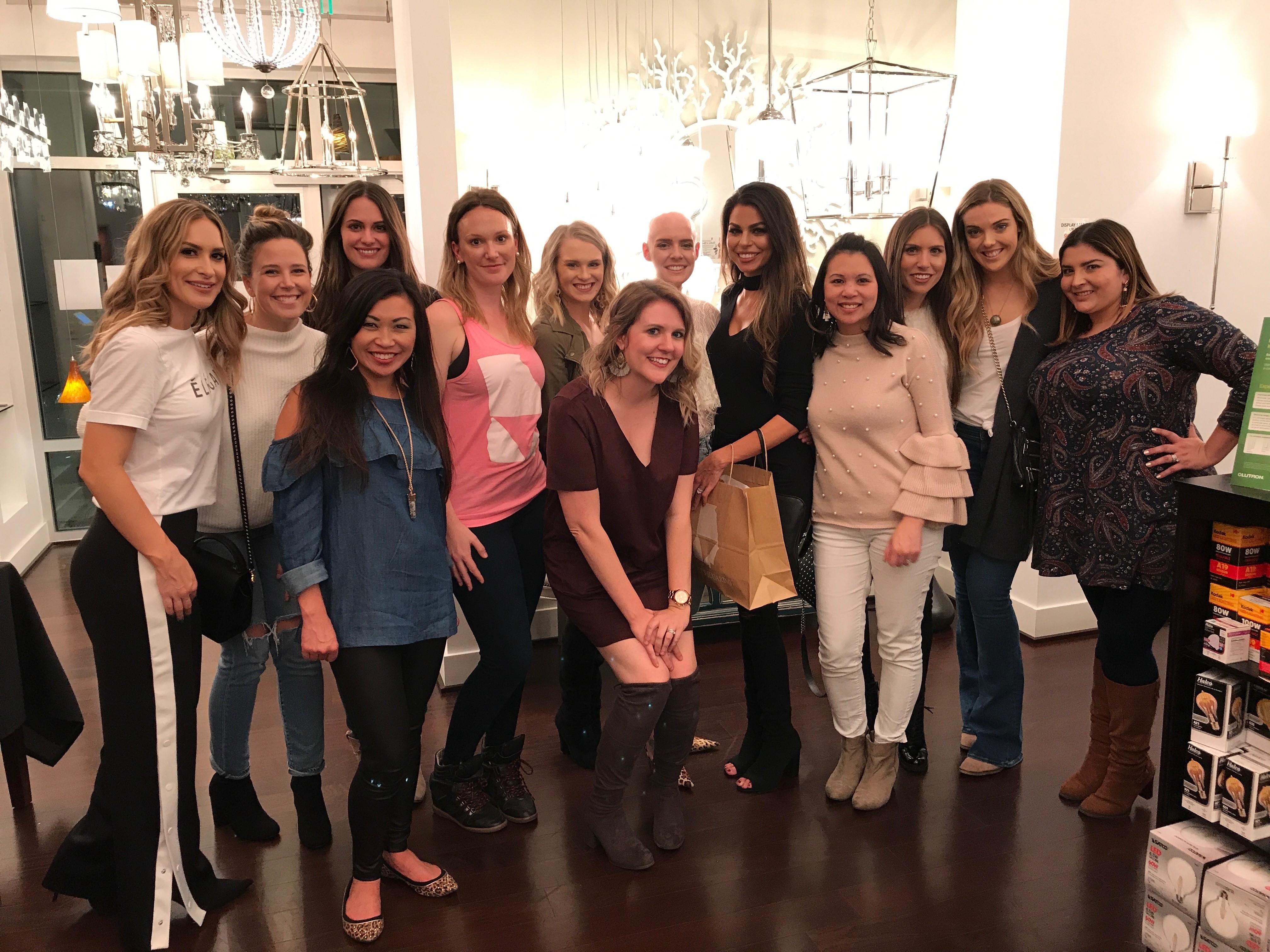 Savannah Influencers at Fashion at Your Pace