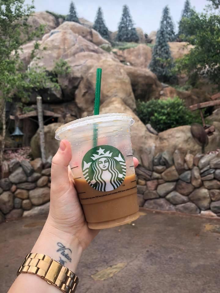 Mickey Treats, Walt Disney World, Starbucks