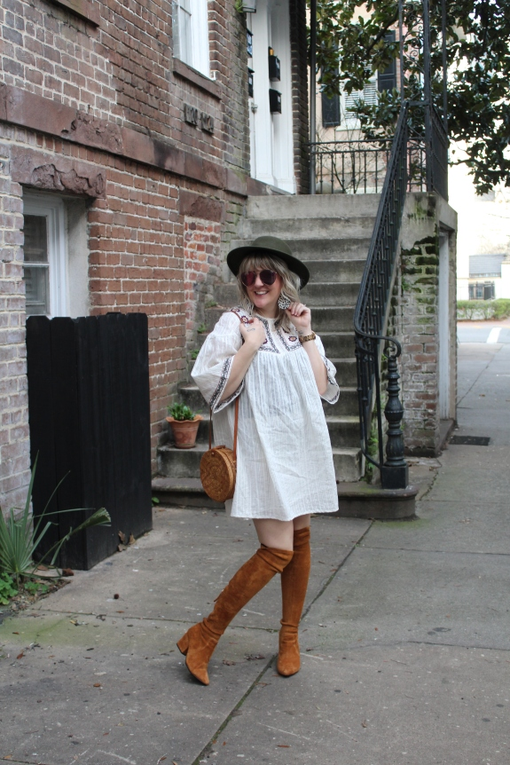 Savannah Blogger, Being Mrs. Fowler, Making Memories, Prioritizing What is Important, Chapes-JPL, Boho Style, Women's Fashion, Modest Style, Teacher Outfit (4)
